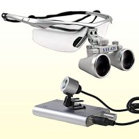 GALAXY Dental Loupes 3.5x With Plastic Frame (Led Head Light Free)