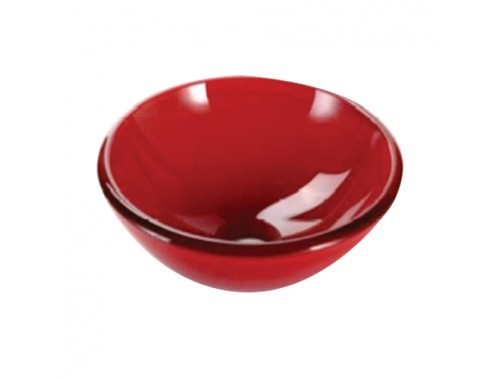 290 Red Glass Spittoon
