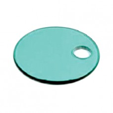 Green Glass Plate